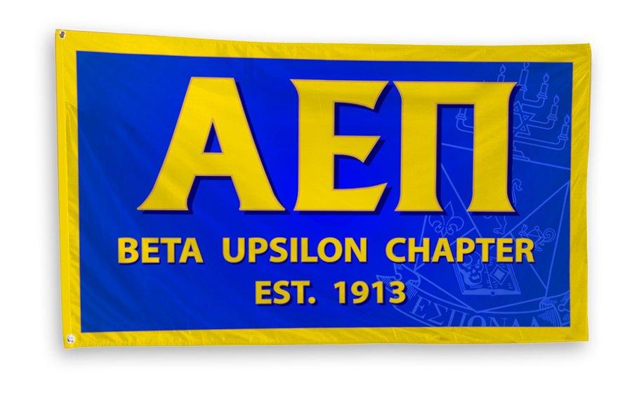 Alpha Epsilon Pi 3 x 5 Flag