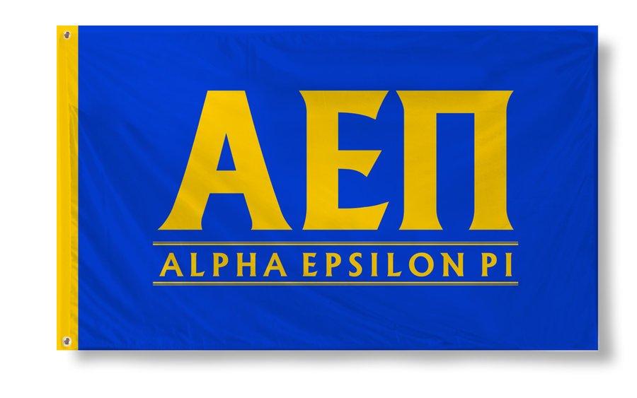 Alpha Epsilon Pi Custom Line Flag
