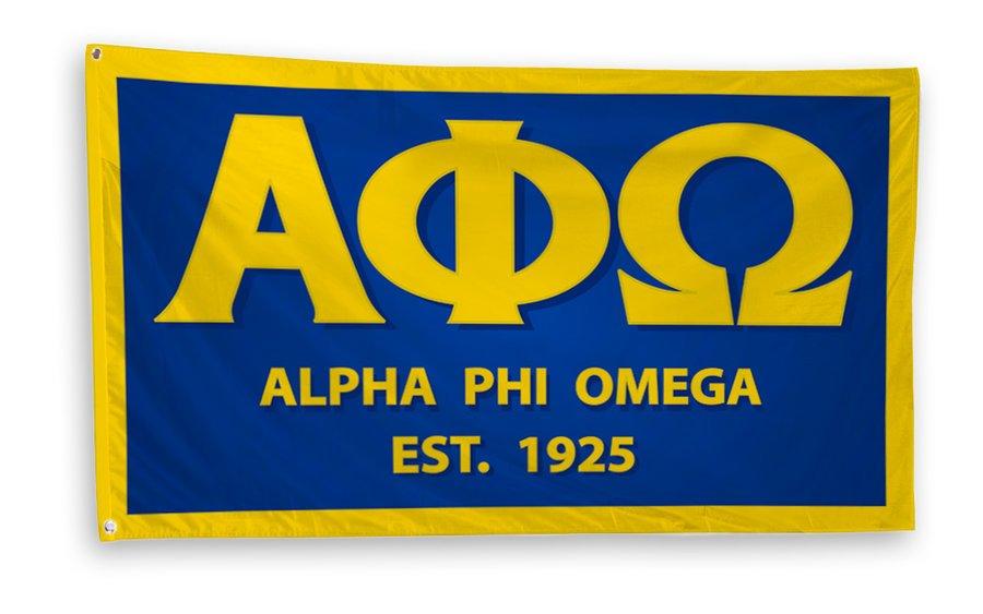 Alpha Phi Omega 3 x 5 Flag