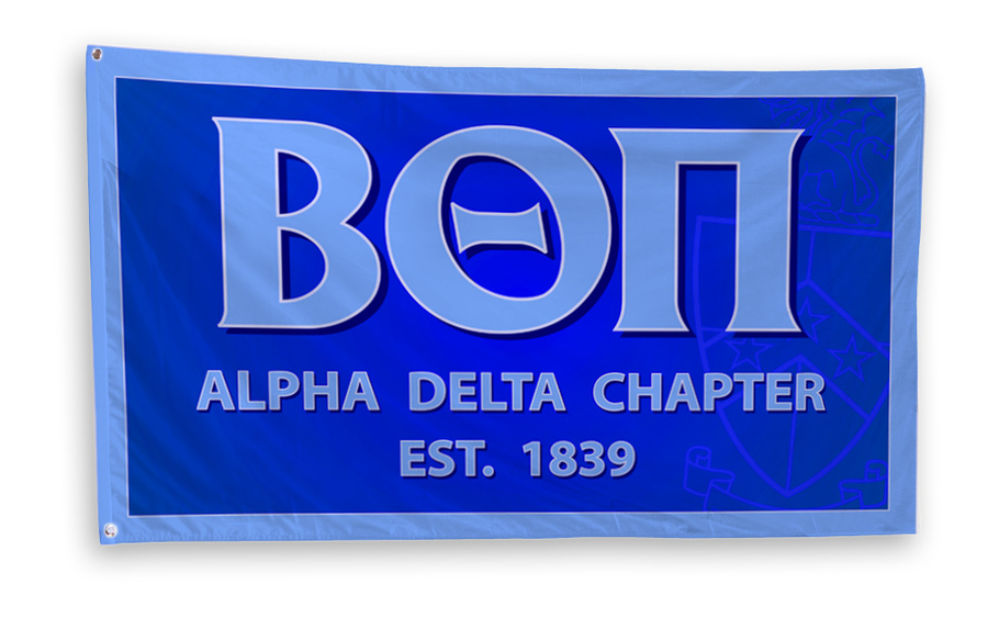 Beta Theta Pi 3 x 5 Flag