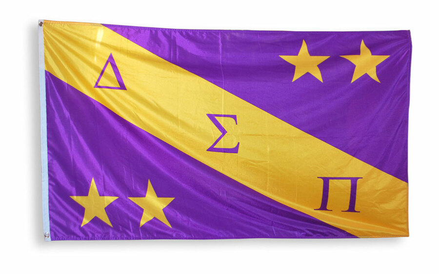 Delta Sigma Pi Giant 3 x 5 Flag