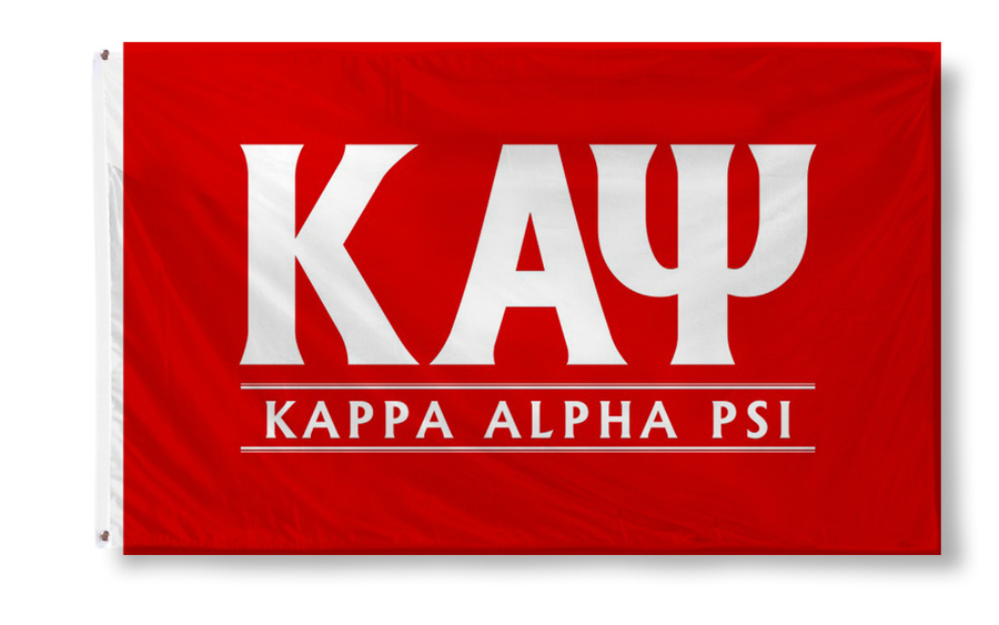 Kappa Alpha Psi Custom Line Flag