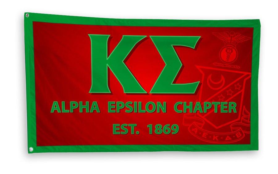 Kappa Sigma 3 x 5 Flag