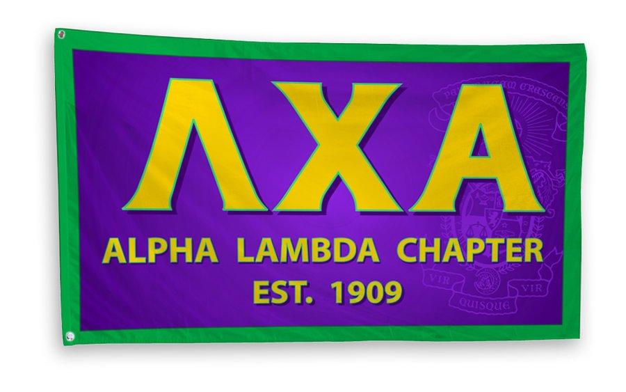 Lambda Chi Alpha 3 x 5 Flag