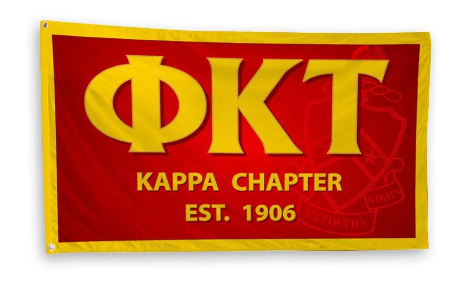 Phi Kappa Tau 3 x 5 Flag