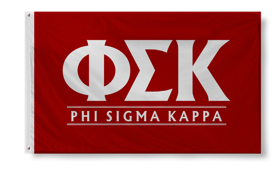 Phi Sigma Kappa Custom Line Flag