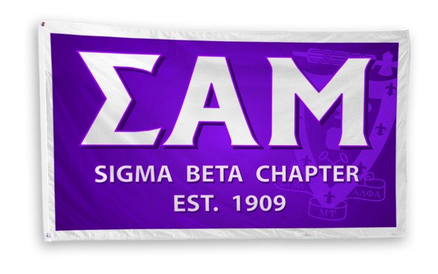Sigma Alpha Mu 3 x 5 Flag