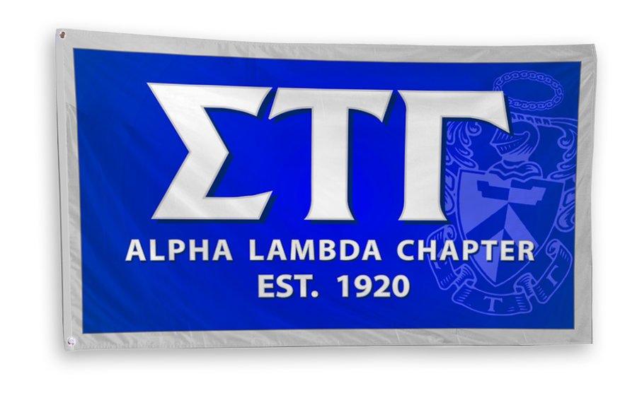 Sigma Tau Gamma 3 x 5 Flag