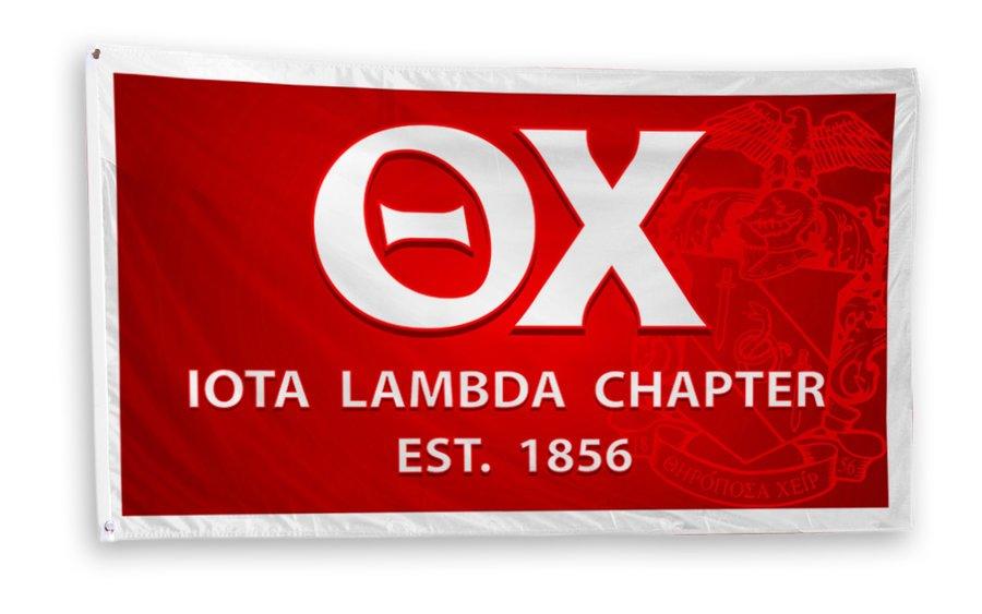 Theta Chi 3 x 5 Flag