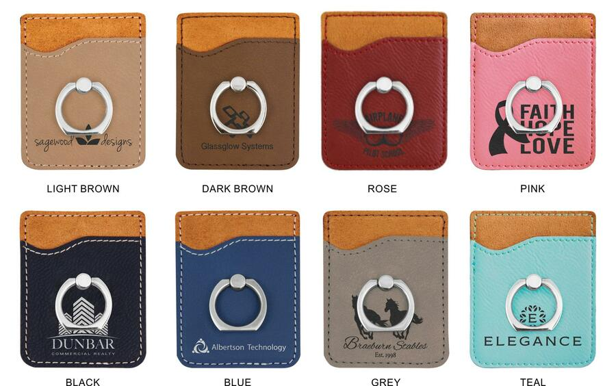 Sorority Phone Wallet with Ring