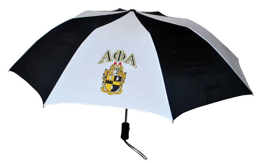 Alpha Phi Alpha Crest - Shield Umbrella