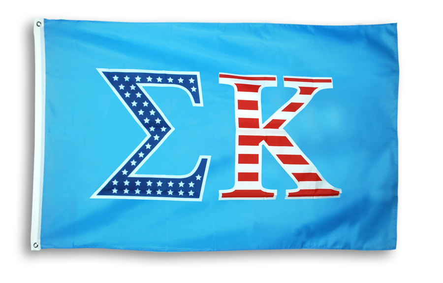 Sigma Kappa 3 X 5 USA Flag