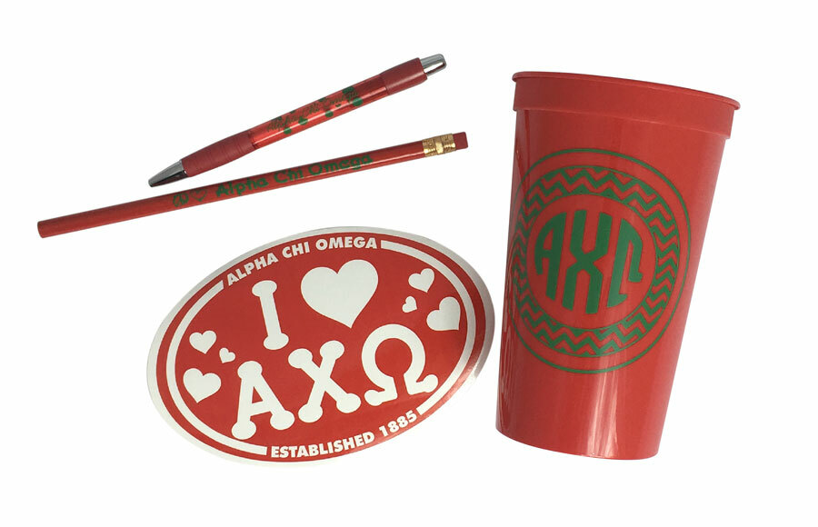 Alpha Chi Omega Sorority Love Set $8.95