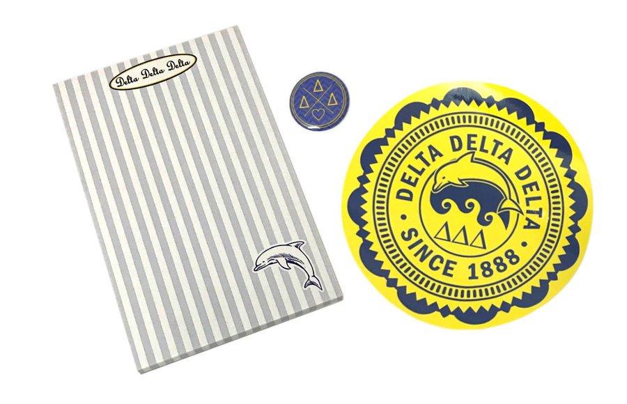 Delta Delta Delta Sorority Musts Collection $9.95