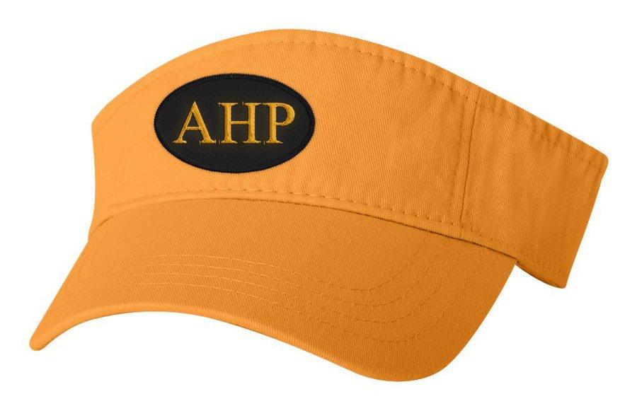 Alpha Eta Rho Greek Oval Heavy Visor