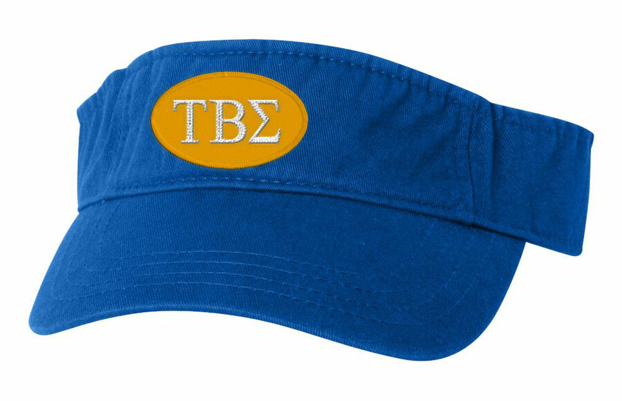 Tau Beta Sigma Greek Oval Heavy Visor