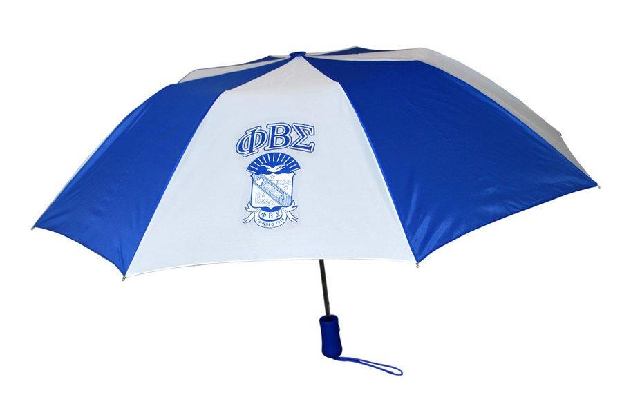 Phi Beta Sigma Crest - Shield Umbrella