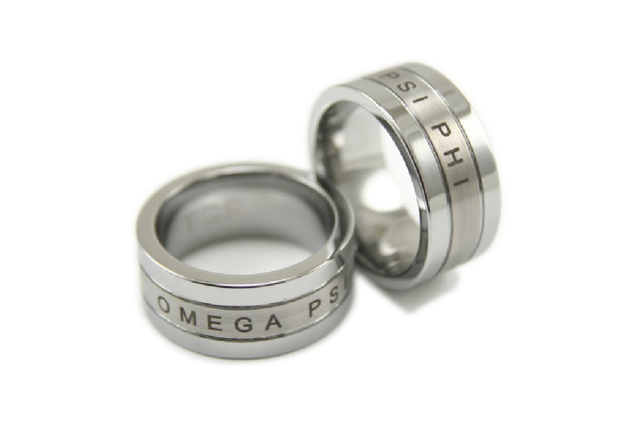 Fraternity Tungsten Carbide Ring