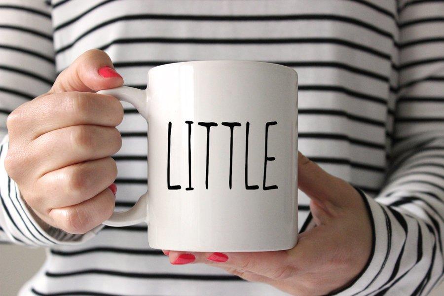 Lil' Sister MOD Coffee Mug