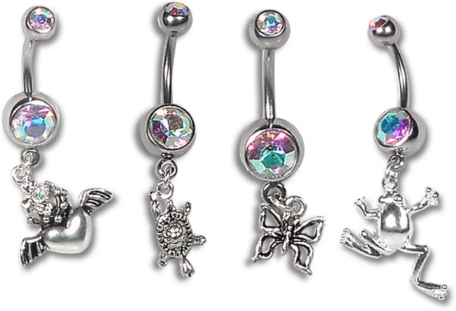 Mascot Belly Button Ring