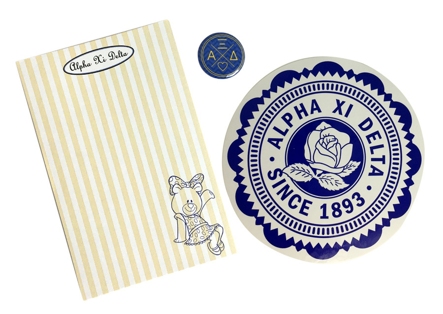 Alpha Xi Delta Sorority Musts Collection $9.95