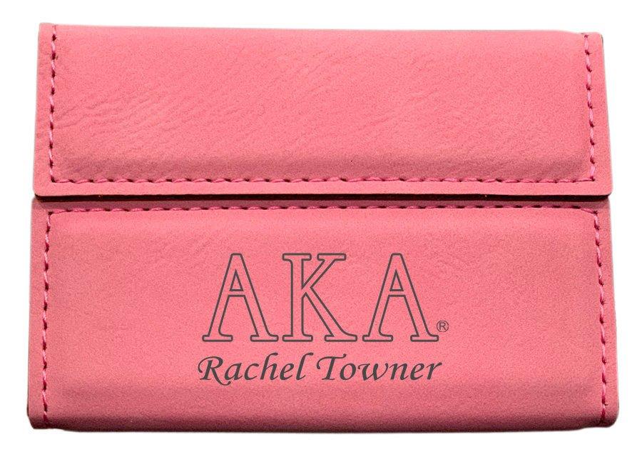 Alpha Kappa Alpha Business Card Holder