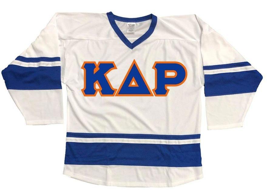 DISCOUNT-Kappa Delta Rho Breakaway Lettered Hockey Jersey