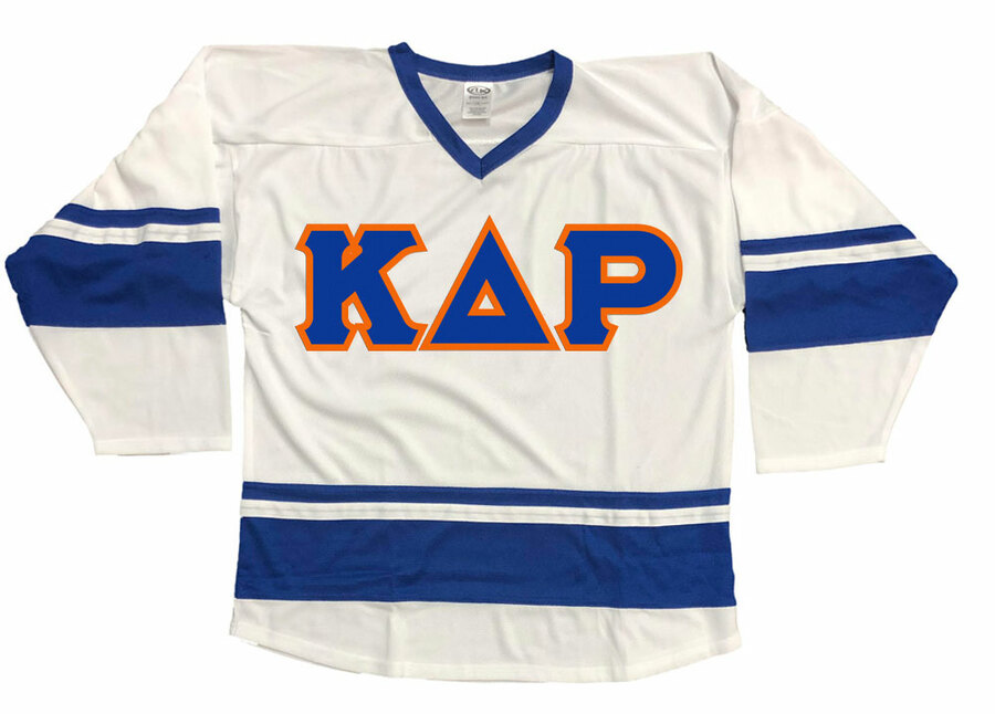 DISCOUNT-Kappa Delta Rho Breakaway Lettered Hockey Jersey