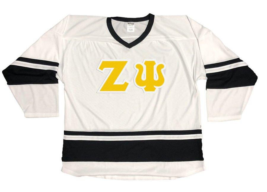 DISCOUNT-Zeta Psi Breakaway Lettered Hockey Jersey