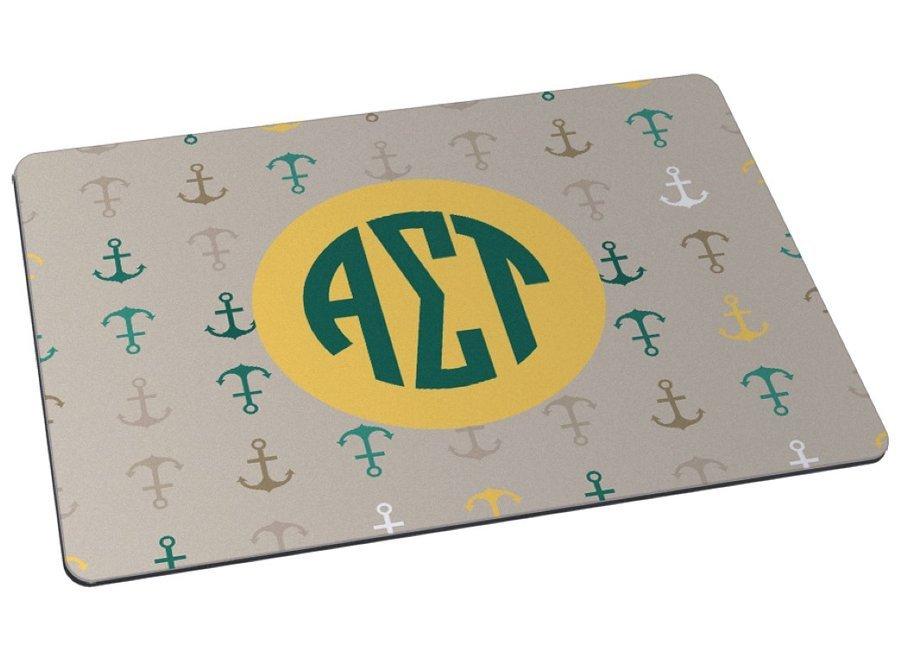 Alpha Sigma Tau Anchor Mousepad