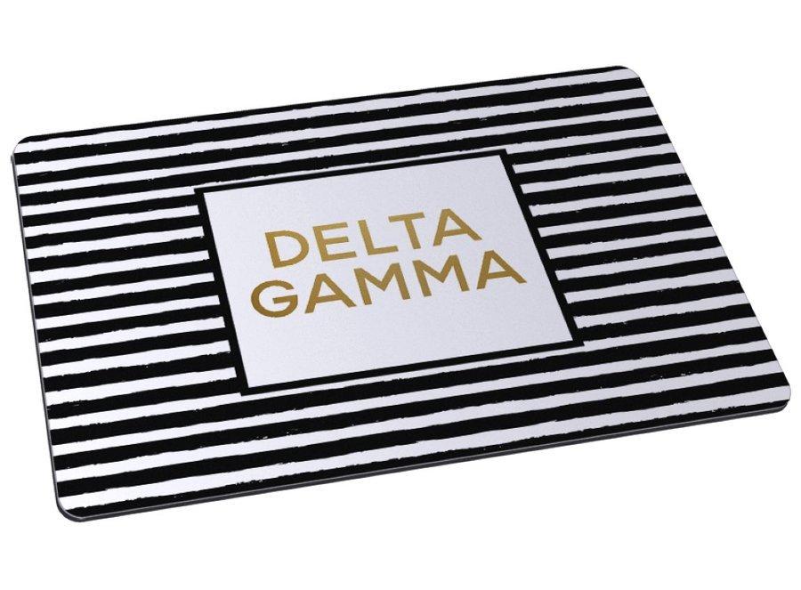 Delta Gamma Striped Mousepad