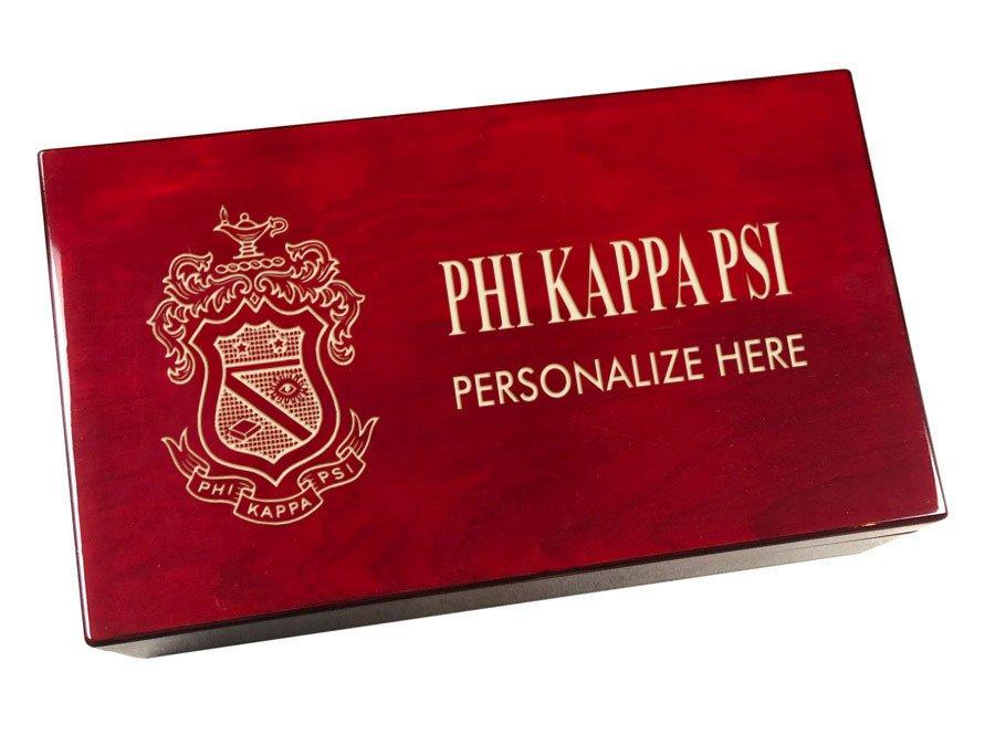 Phi Kappa Psi Engraved Gavel Set