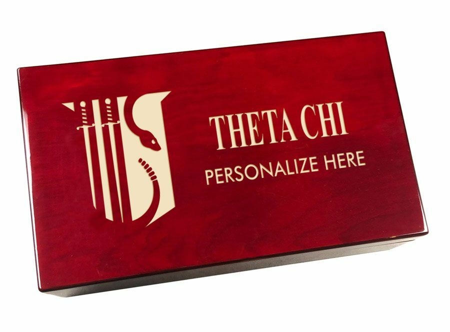 Theta Chi Engraved Gavel Set