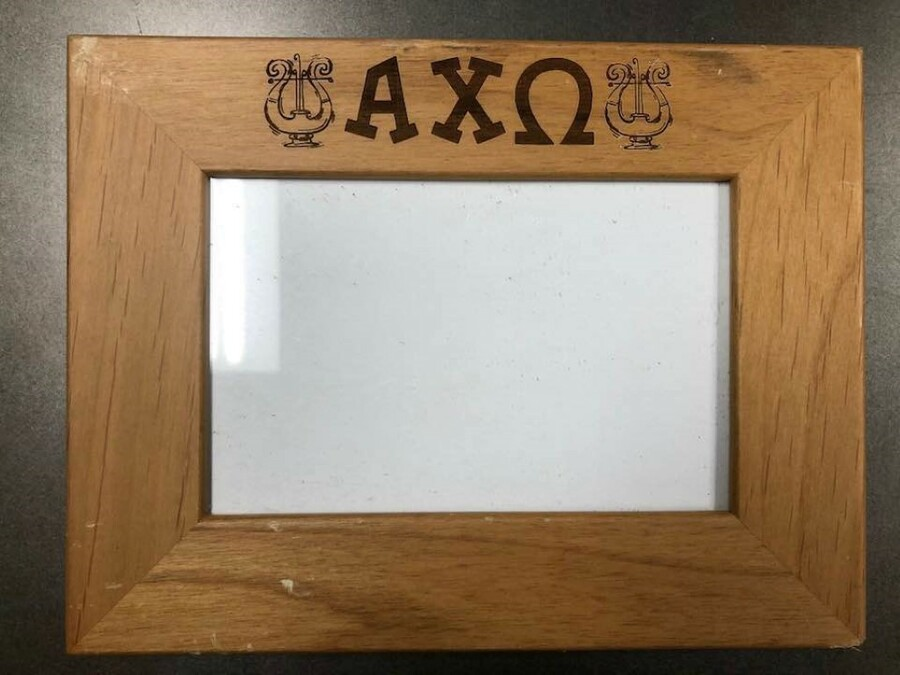 Super Savings - Alpha Chi Omega Picture Frame - WOOD