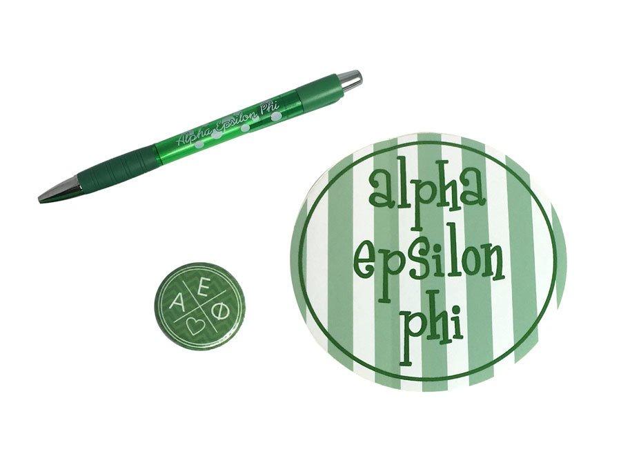 Alpha Epsilon Phi Sorority Pack $5.00