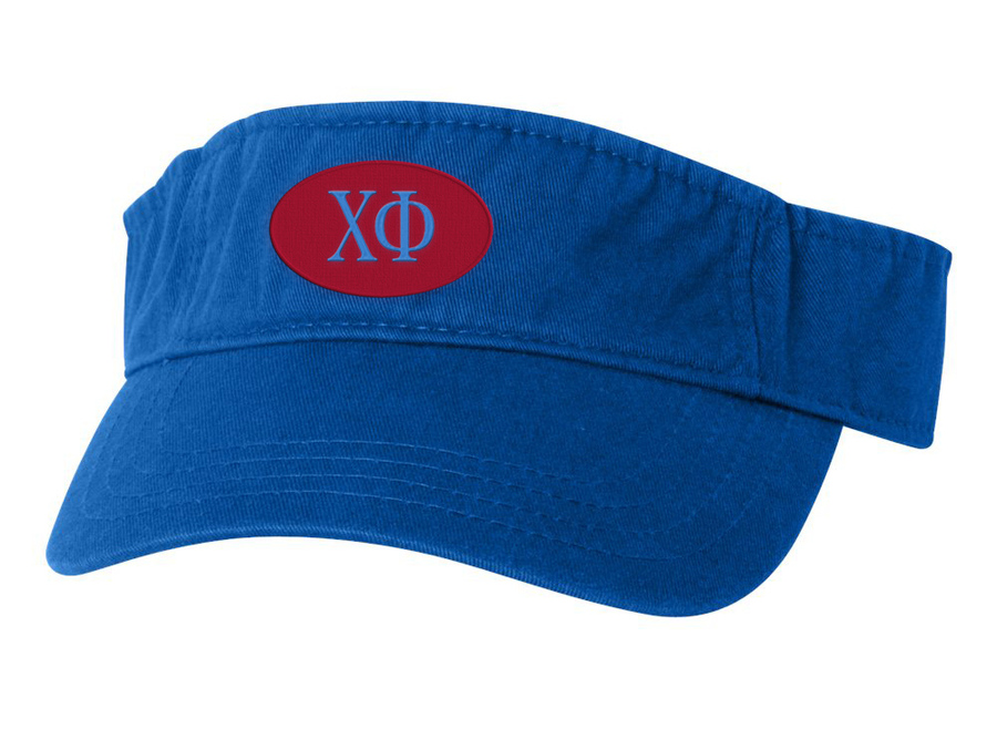 Chi Phi Greek Oval Heavy Visor
