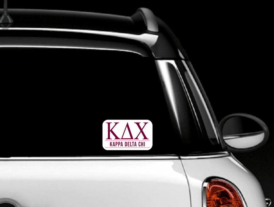 Kappa Delta Chi Custom Sticker - Personalized