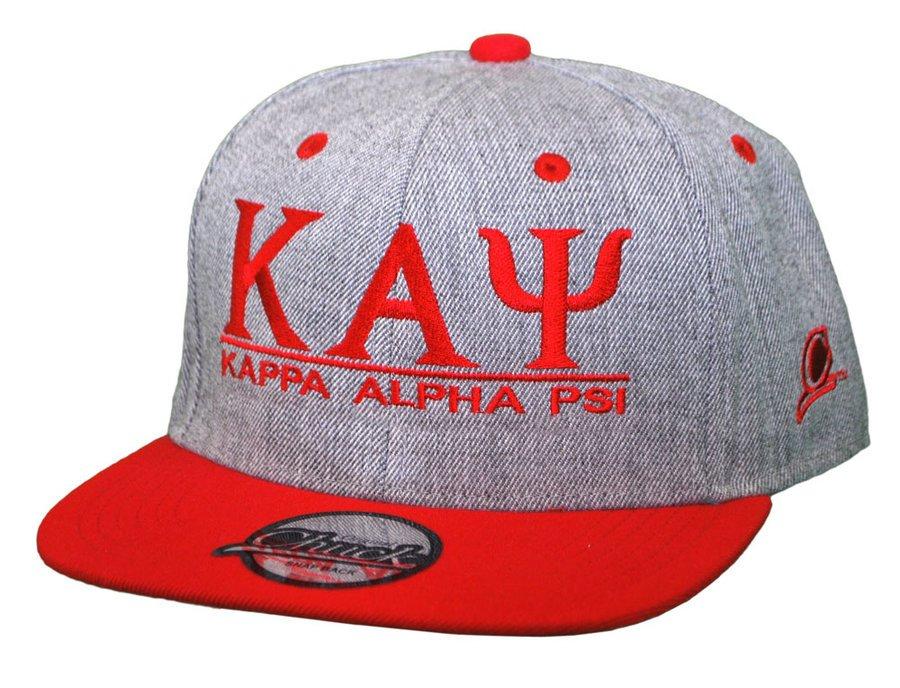 Kappa Alpha Psi Flatbill Snapback Hats Original