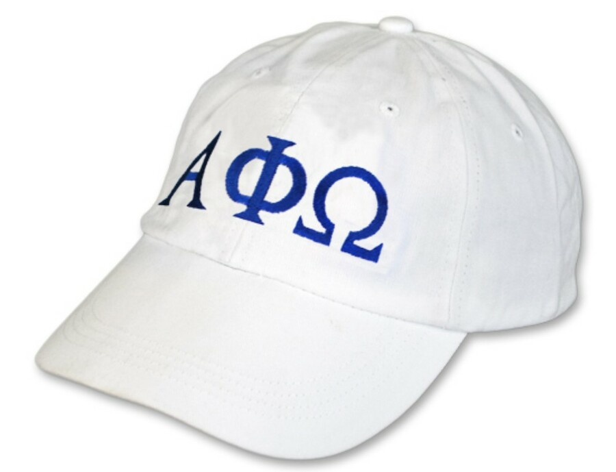 Alpha Phi Omega Letter Hat