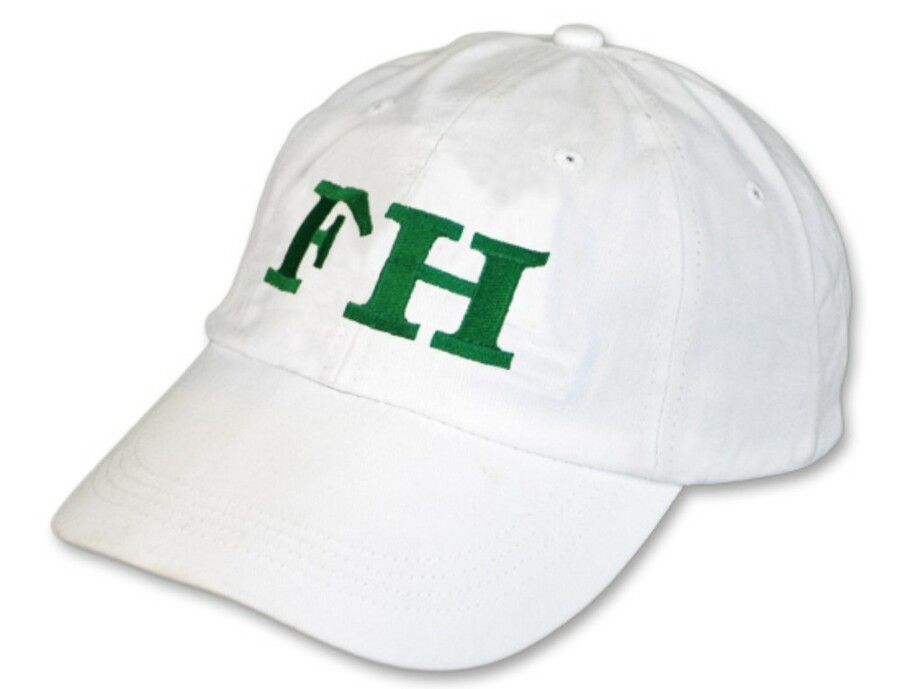 FarmHouse Fraternity Letter Hat