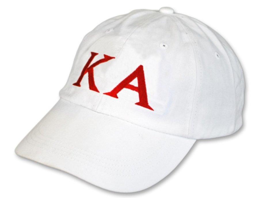 Kappa Alpha Letter Hat