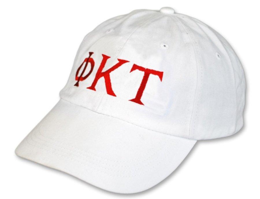 Phi Kappa Tau Letter Hat