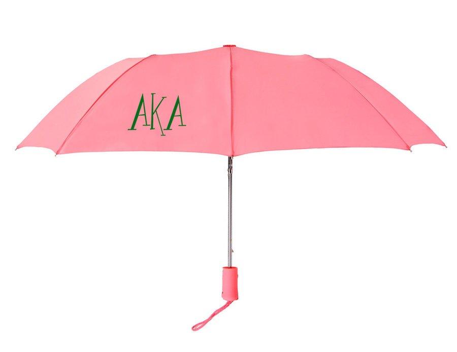 Alpha Kappa Alpha Lettered Umbrella