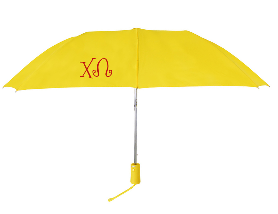 Chi Omega Lettered Umbrella