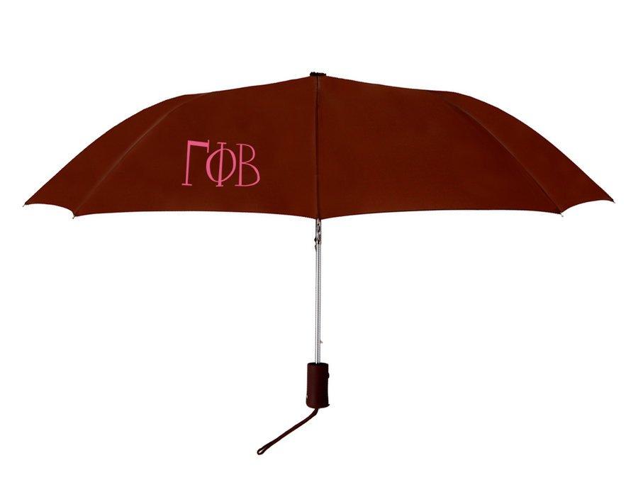 Gamma Phi Beta Lettered Umbrella