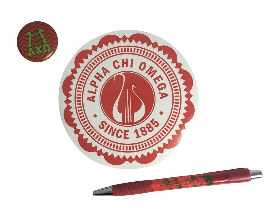 Alpha Chi Omega Sorority Pack $5.00