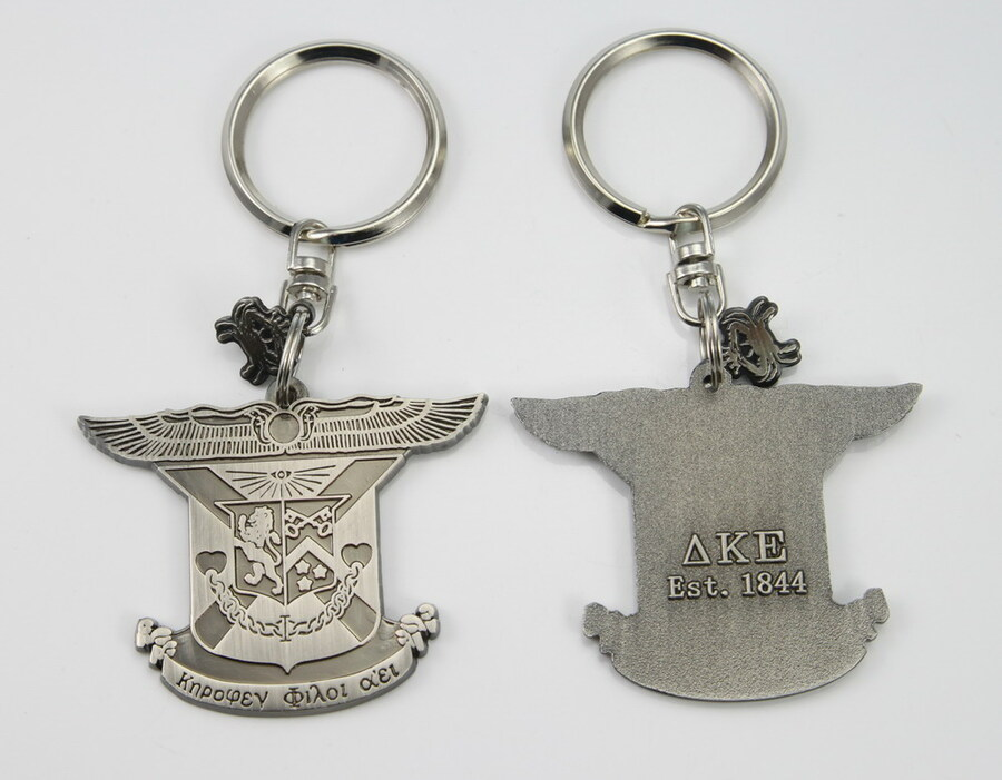 Fraternity Alloy Keychains