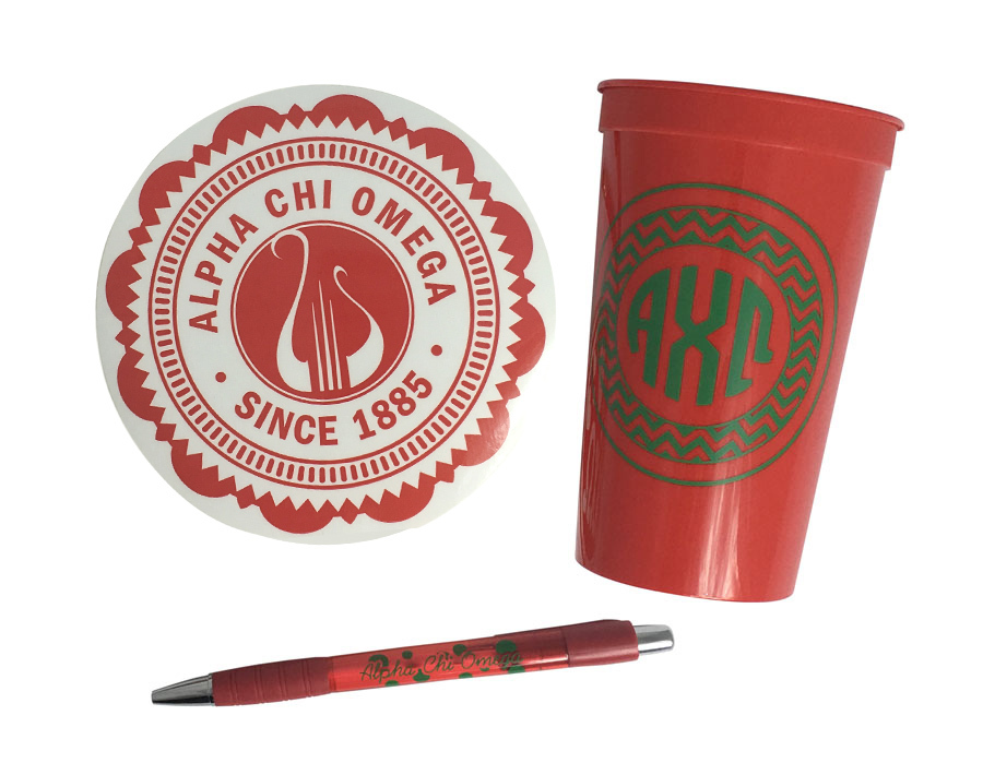 Alpha Chi Omega Sorority For Starters Collection $8.95