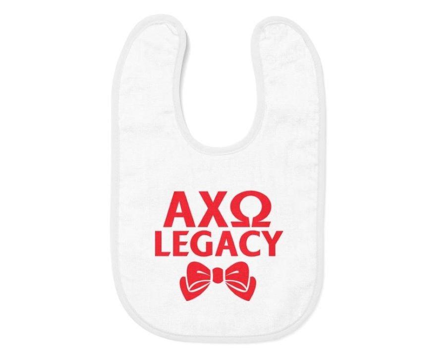 Alpha Chi Omega Legacy Bib