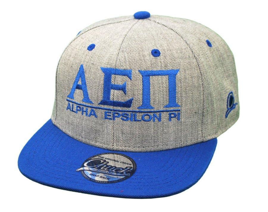 Alpha Epsilon Pi Flatbill Snapback Hats Original